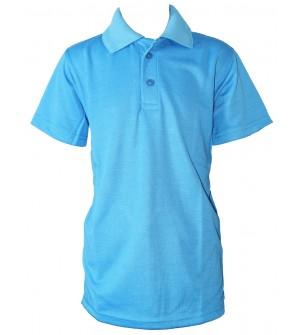 Clever Boy Boys Plain Cotton T Shirt (Peacock Blue, Pack of 1) - 0736