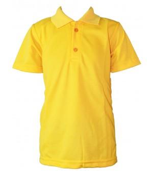 Clever Boy Boys Plain Cotton T Shirt (Lemon Yellow, Pack of 1) - 0738