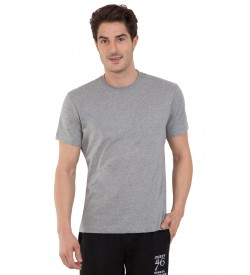 Jockey Grey Melange Sport T-Shirt - 2714