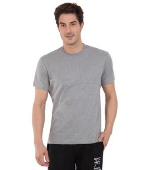 Jockey Grey Melange Sport T-Shirt - 2714