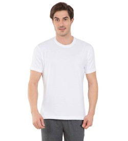 Jockey White Sport T-Shirt - 2714