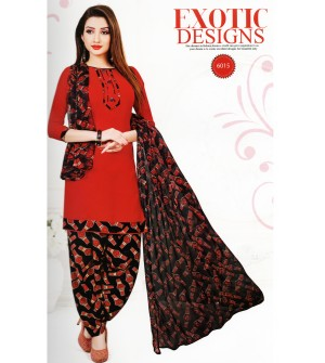 Ocean Spray Wi-Fi Exotic Designs  Kalamkari Synthetic Unstitched Dress Material
