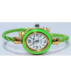 PengPa Gold-Tone Bangle Analog Watch For Women's - 2145