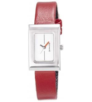 Sonata Analog White Dial Women's Watch -NK8102SL03