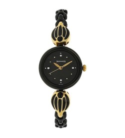 Sonata Black Dial Analog Watch for Women