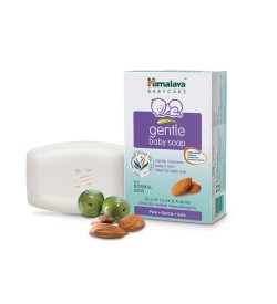Himalaya Gentle Baby Soap, 125G (Pack Of 3)