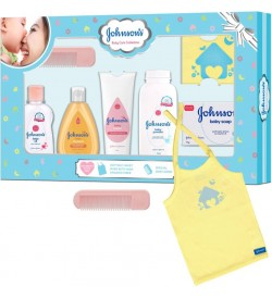 Johnson's Baby Care Collection Gift Pack (Blue)