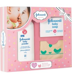 Johnson's Baby Care Collection Gift Pack (Pink)