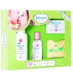 Johnson's Baby Care Collection Gift Pack (Green)