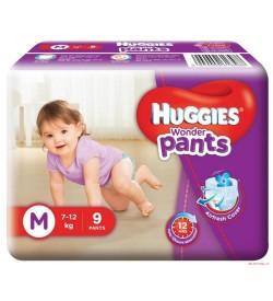 Huggies Wonder Pants Medium Size Diapers (9 Count)