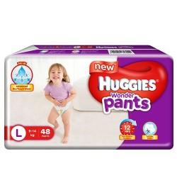 Huggies Wonder Pants Diapers - Large (9 - 14 kgs), 5 Pcs