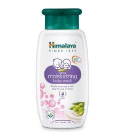 Himalaya Baby Care Extra Moisturizing Baby Wash, 100ml (Pack Of 2)