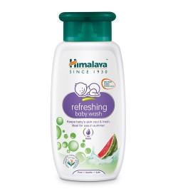 Himalaya Baby Care Refreshing Baby Wash, 100ml (Pack Of 2)