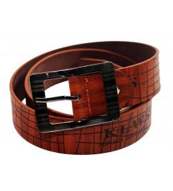 Kalewensen Jean Belt For Men ( Tan ) - 0308