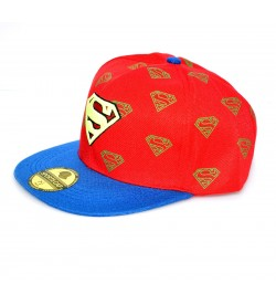 Letter S Red Sports Cotton Cap - 8134