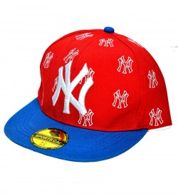 NY Sports Cap For Boys, Men's, Girls (Red & Blue) - 8207