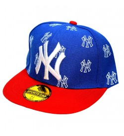 NY Sports Cap For Boys, Men's, Girls (Blue & Red) - 8219