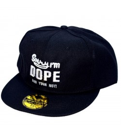 Sorry I'm DOPE And Your Not ! Sports Cap (Black & White) - 8259