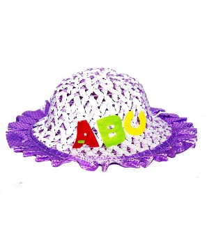 Child Kids Girls Baby Lace Node Brim Summer Cap 2 Different Colour pack Of 2  - CA7712