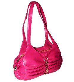 HB-0214 Shoulder Bag - ( Purple )