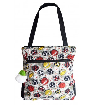 Sports Balls Shoulder Bag - Multi Colour - 0222