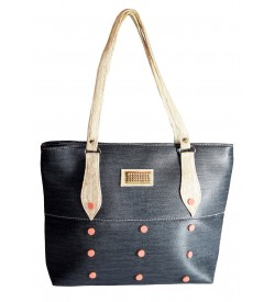 HB-0228 - Shoulder Bag ( Slate Cream )