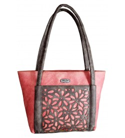 Sun Shoulder Bag - ( Peach Brown ) - 0240