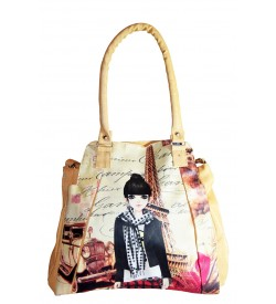 Girls Shoulder Bag - ( Deepskin ) - 0246