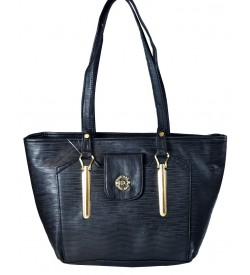 RSC Black Shoulder Bag For Women - 1159