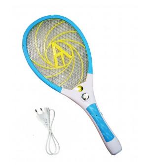 Akari Plus AK-323W Rechargeable Mosquito Bat Electric Insect Killer Bat (Blue)