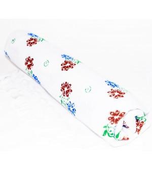 Gunaas White Print Towel Pack Of 2 -1147
