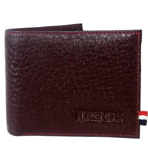 Trends Men Maroon Two Fold Wallet 4 Card Slots - 0562