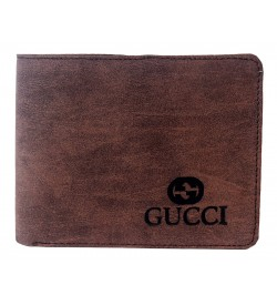 Gucci Men Two Fold Wallet 7 Card Slots - 0593