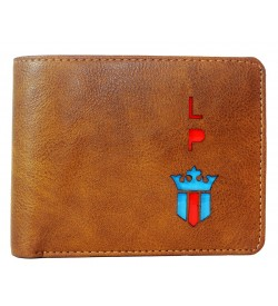 LP Jeans Brown Wallet For Men (5 Card Slots,1 Sim 1 Sd Card Slots ) -0617
