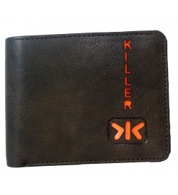Killer D.Brown Wallet For Men (5 Card Slots,1 Sim 1 Sd Card Slots ) -0656