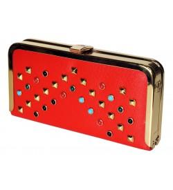 Luodan Orange Wallet For Women (8 Card Slots) - 1178