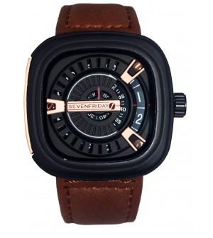 Mobizeo Sevenfriday Leather Analog Unisex Watch