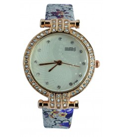 KMS Stone Analog Watch - For Women