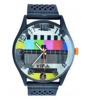 TIFA Analog Black Dial Watch  - For Men's