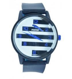POMO TIFA Stylish Analog Watch - For Men ( Black )