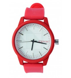 FEXPORT Analog Watch - For Women (Red)