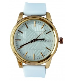 FEXPORT Stylish Analog Watch - For Women (White)