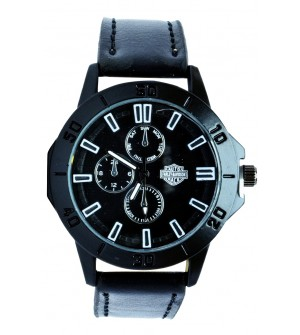 AUTO FARLEY-BAVIDSON RACE Analog Watch - For Men ( Black )
