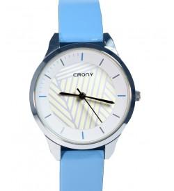 Crony Harmony Sky Bkue  Gunuine Leather Strap Watch For Girls - 0355