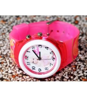 Devlr's Barbie Girl Light Watch For Kids Girls (Pink) -0827
