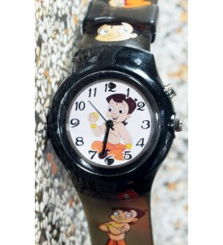 Devlr's Chhota Bheem Light Watch For Kids Boys (Green) -0845