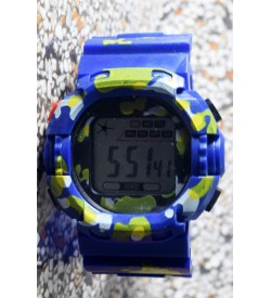 E-SHOCK Digital Watch for Kids & Boys (Royal Blue) - 0866