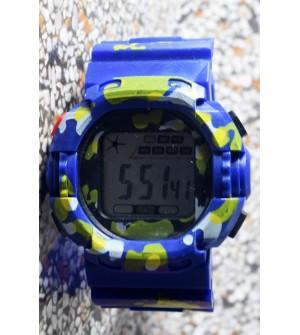 E-SHOCK Digital Watch for Kids & Boys (Royal Blue) - 0866