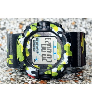 E-SHOCK Digital Watch for Kids & Boys (Black) - 0871