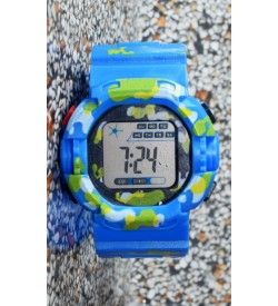E-SHOCK Digital Watch for Kids & Boys (Blue) - 0875